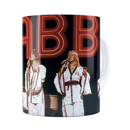Caneca ABBA Poster Show Branca