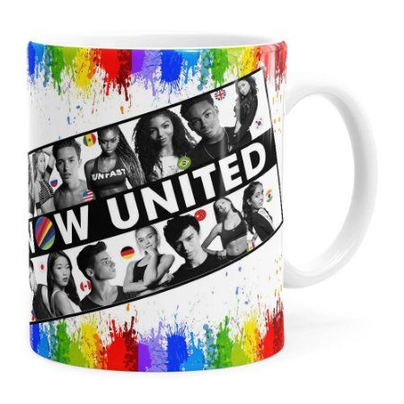 Caneca United Now 4 Branca