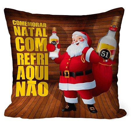 Almofada Natal Cachaça 51 com Refrigerante Não