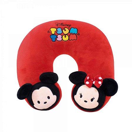 Almofada de Pescoço Mickey e Minnie Tsum Tsum