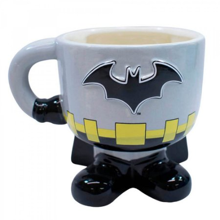 Caneca Batman 3D Porcelana 450ml