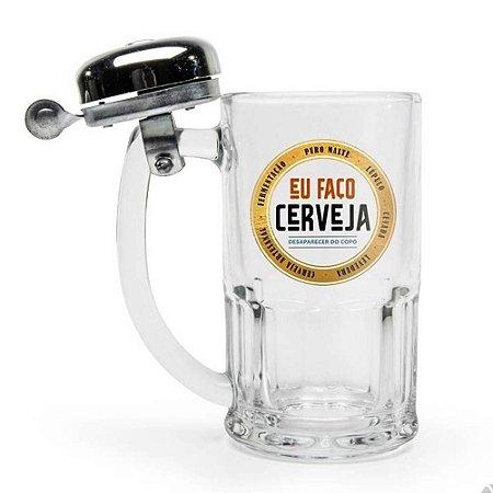 Caneca Campainha Eu Faço Cerveja Desaparecer