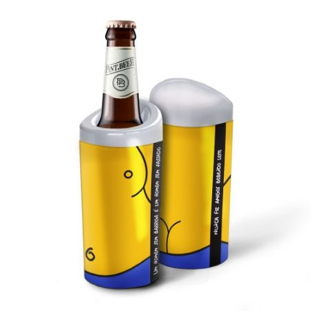 Porta Garrafa Homer Simpson 600ml