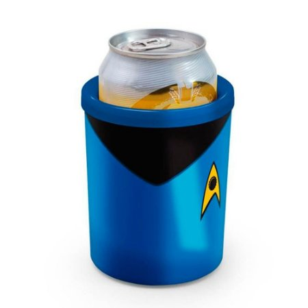Porta Lata Star Trek Azul 350ml