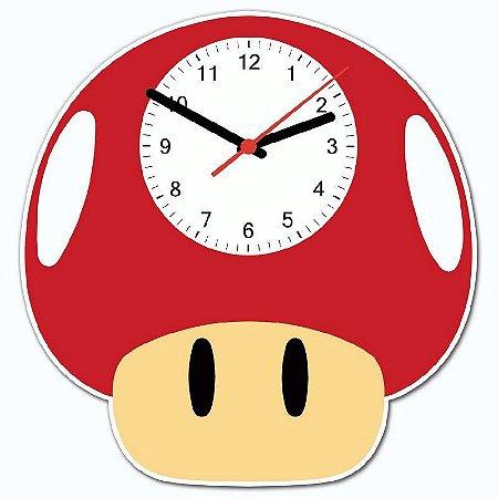 Relógio Geek Toad Marios