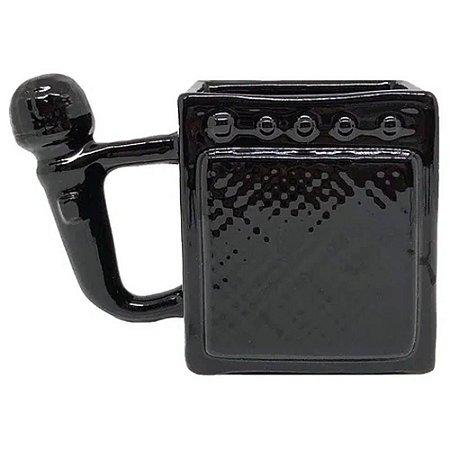 Caneca 3D Cubo Amplificador e Microfone Shape 300ml