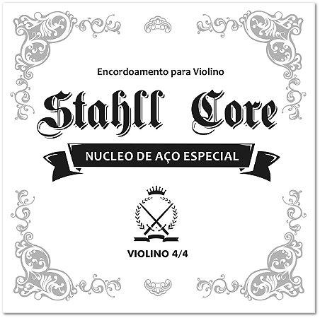 Encordoamento Jogo de Cordas Violino 4/4 Stahll Core Núcleo de Aço