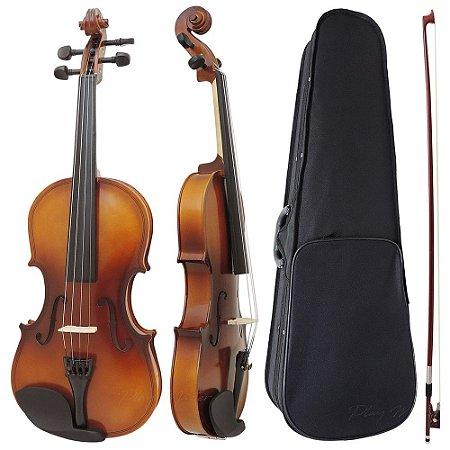 Violino 1/4 Intermediário Completo Augustini Prime Envelhecido
