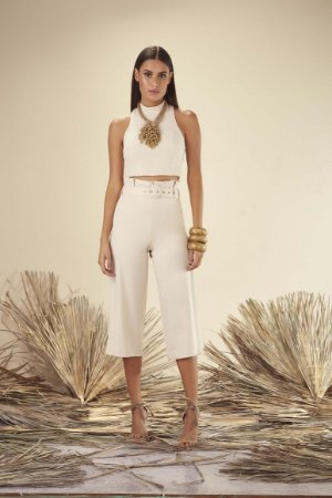 TOP CROPPED GOLA PADRE LISO