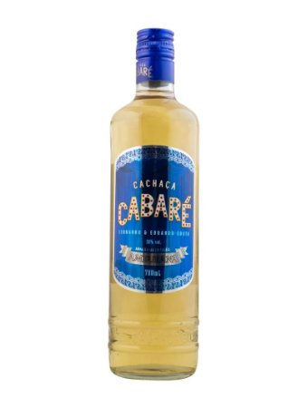 Cachaça Cabaré Amburana 700ml
