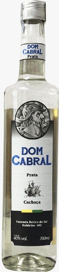 Cachaça Dom Cabral Prata 700ml