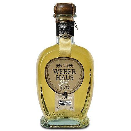 Cachaça Weber Haus Premium Orgânica 750ml - Caixa com 6 unidades