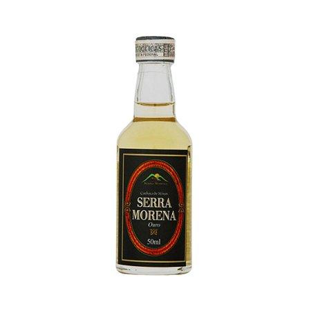Cachaça Serra Morena Ouro 50ml