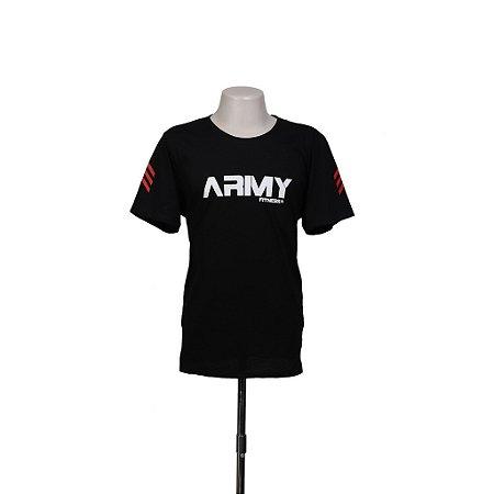 CAMISETA ARMY FITNESS PRETA - USADO
