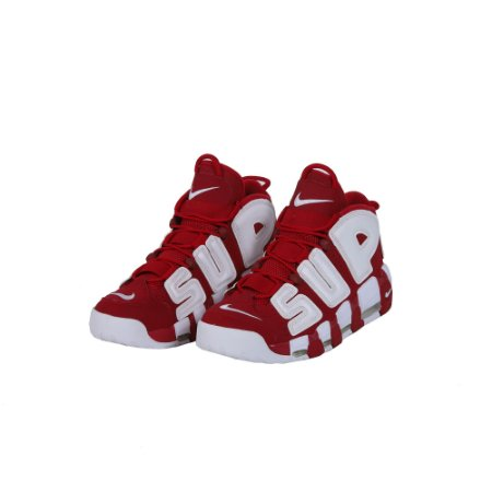 TÊNIS NIKE AIR MORE UPTEMPO SUPREME RED