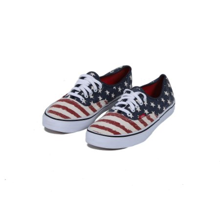 TÊNIS VANS AUTHENTIC ESTADOS UNIDOS - USADO