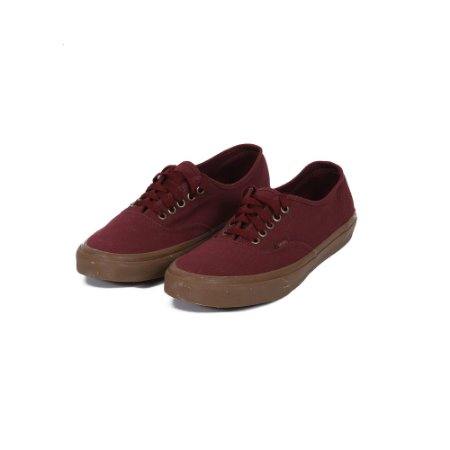 TÊNIS VANS AUTHENTIC BURGUNDY GUM