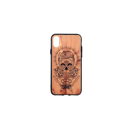 CASE WOOD STYLE IPHONE X