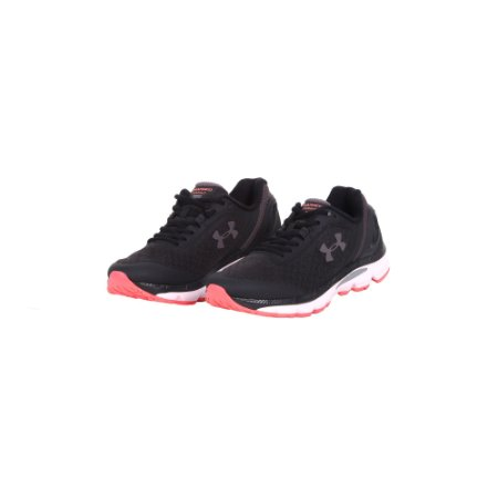 TÊNIS UNDER ARMOUR CHARGED SPRINT PRETO ROSA