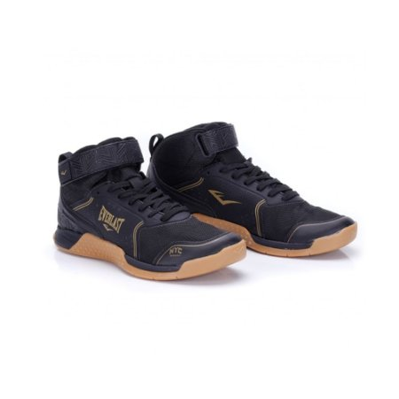 TENIS EVERLAST MONSTER PRETO DOURADO
