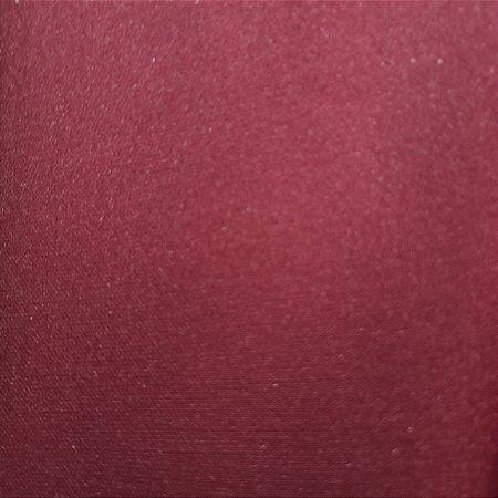 Crepe Barbie Vermelho Marsala 1.47mt de Largura