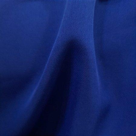 Crepe Barbie Azul Royal 1.47mt de Largura