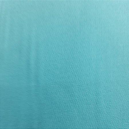 Crepe Barbie Azul Turquesa 1.47mt de Largura