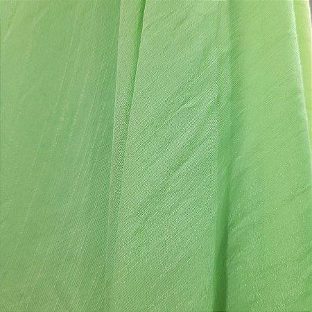 Rayon Tencel Slub Verde Claro 1,47mt de Largura