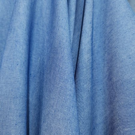 Camisaria Chambray Azul Jeans 1,50mt de Largura