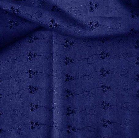 Laise Mista cor Azul Royal 1,40mt de Largura