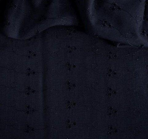 Laise Mista cor Azul Marinho 1,40mt de Largura