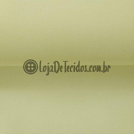 Tule Liso Amarelo Bebê 2,40m de Largura
