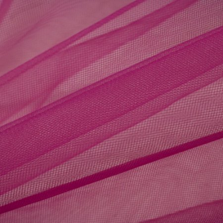 Tule Liso Pink 2,40m de Largura