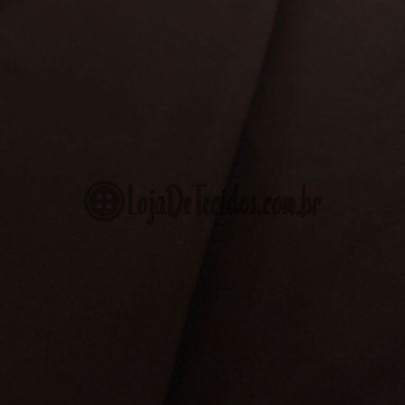 Viscose com Elastano Liso Marrom 1,42m de Largura
