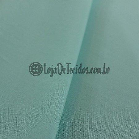 Viscose com Elastano Liso Verde Tifanny 1,42m de Largura
