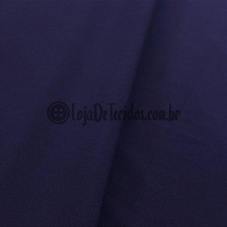 Viscose com Elastano Liso Azul Marinho 1,42m de Largura