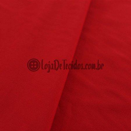 Viscose Lisa Vermelho 1,42m de Largura