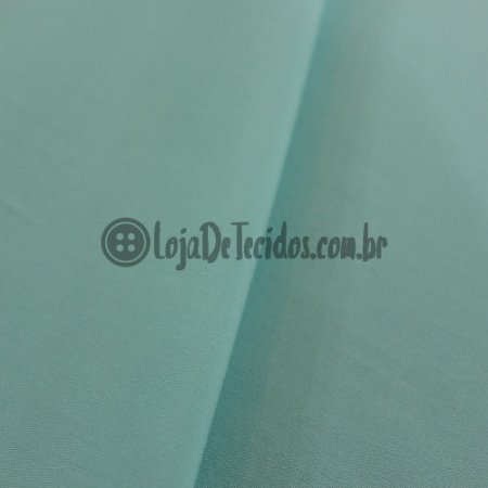 Viscose Lisa Verde Tifanny 1,42m de Largura