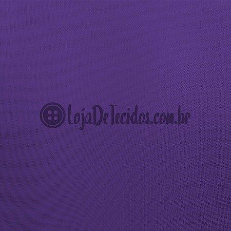 Voil Transparente Roxo 3mt de Largura