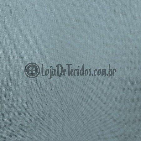 Voil Transparente Azul Bebê 3mt de Largura