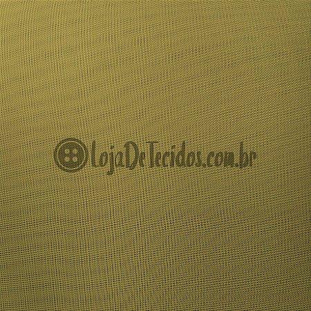 Voil Transparente Mostarda 3mt de Largura