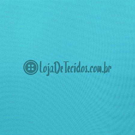 Voil Transparente Azul Claro 3m de Largura
