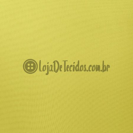 Voil Transparente Amarelo 3mt de Largura