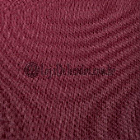 Voil Transparente Vermelho Marsala 3m de Largura