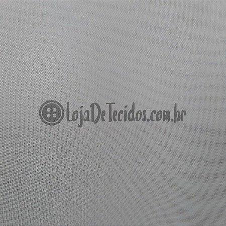 Voil Transparente Cinza Claro 3mt de Largura