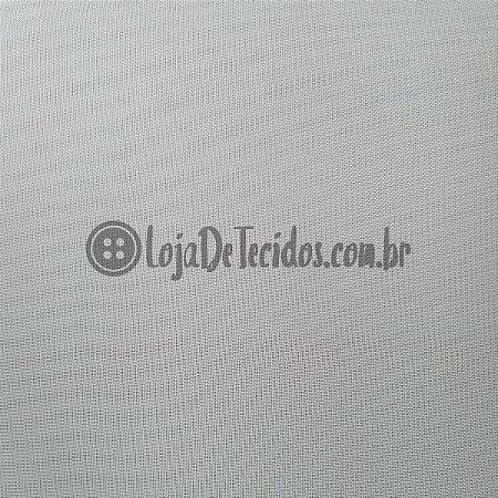 Voil Transparente Branco 3mt de Largura