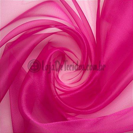 Organza Cristal Pink 1,50m de Largura