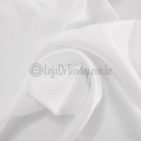 Crepe Pascally Branco 1.50mt de Largura