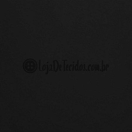 Tactel Liso Preto 1,60m de Largura