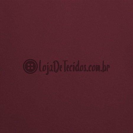 Tactel Liso Vermelho Marsala 1,60mt de Largura